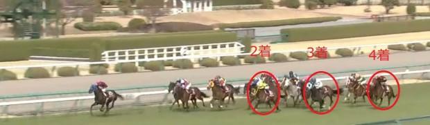 阪神牝馬S2012直線